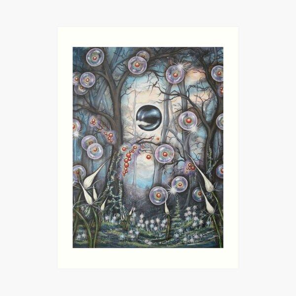 Alien Seed Art Print