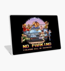 No Parking Violators will be Destroyed Laptop Skin