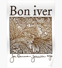 Bon Iver - For Emma Poster