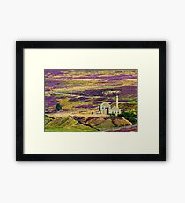 The Old Fluorspar Mine Framed Print