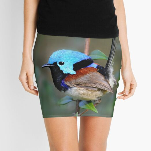 Variegated Fairy-wren Mini Skirt