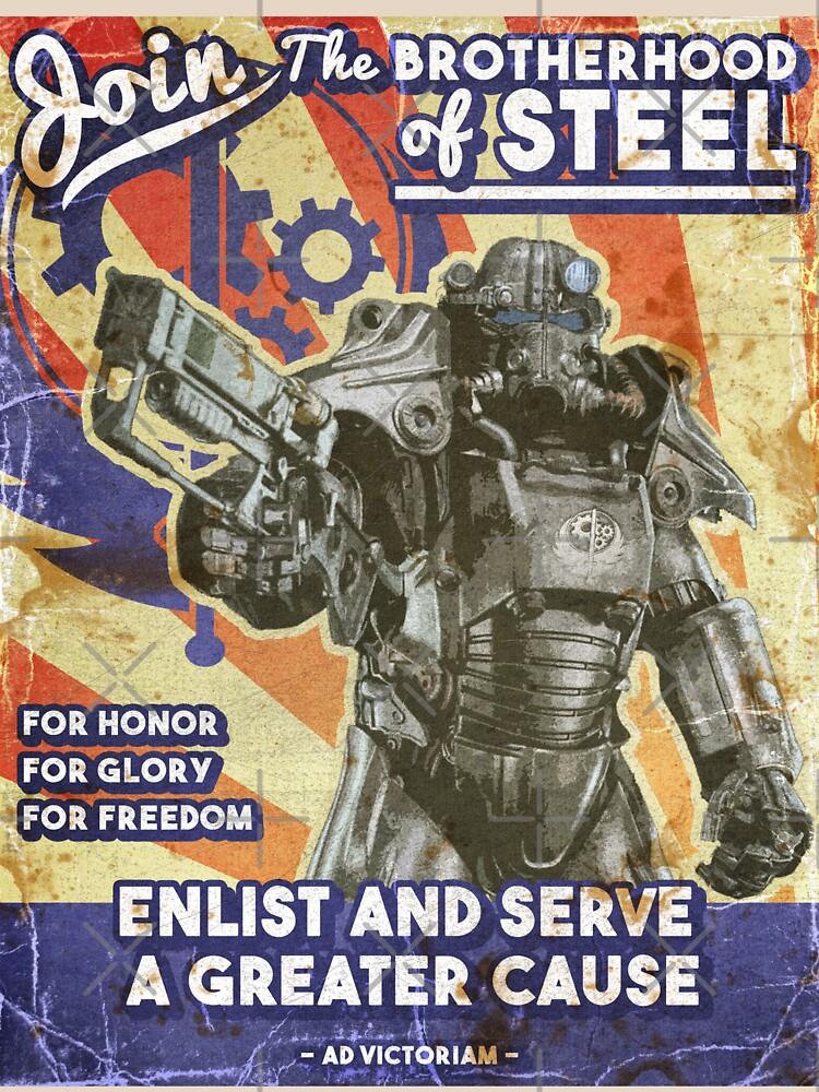 Brotherhood Propaganda Poster by jenkem69