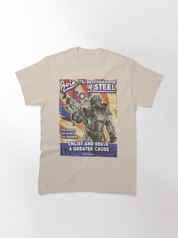 Alternate view of Brotherhood Propaganda Poster Classic T-Shirt