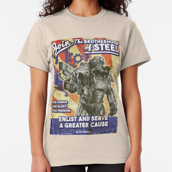 Brotherhood Propaganda Poster Classic T-Shirt