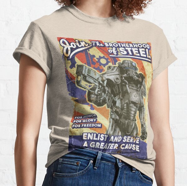 Affiche de propagande de la confrérie T-shirt classique