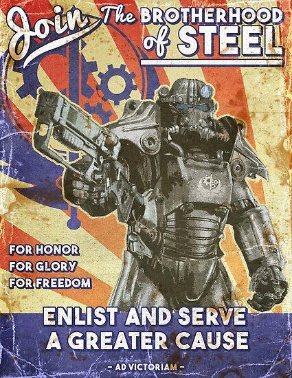 Bruderschaft Propaganda Poster von jenkem69