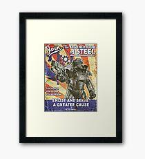 Brotherhood Propaganda Poster Framed Print