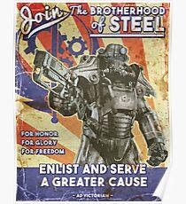 Brotherhood Propaganda Poster Poster