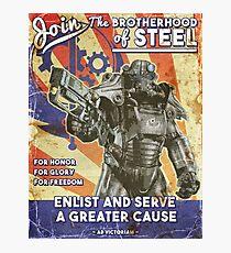 Bruderschaft Propaganda Poster Fotodruck