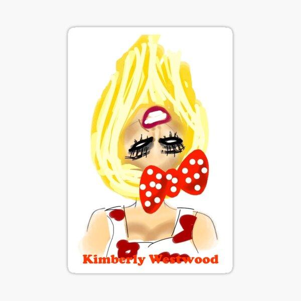 Kimberly Westwood Upside Down Sticker