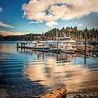 GIBSONS MOORINGS by Peter Sutton