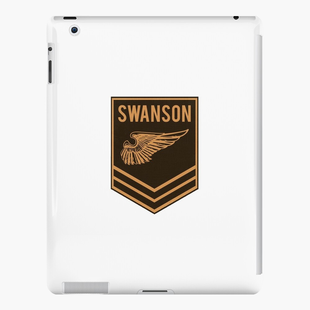 Parks and Recreation - Swanson Ranger Club iPad Cases & Skins