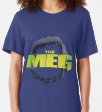 THE MEG - MOVIE - MEGALODON Slim Fit T-Shirt