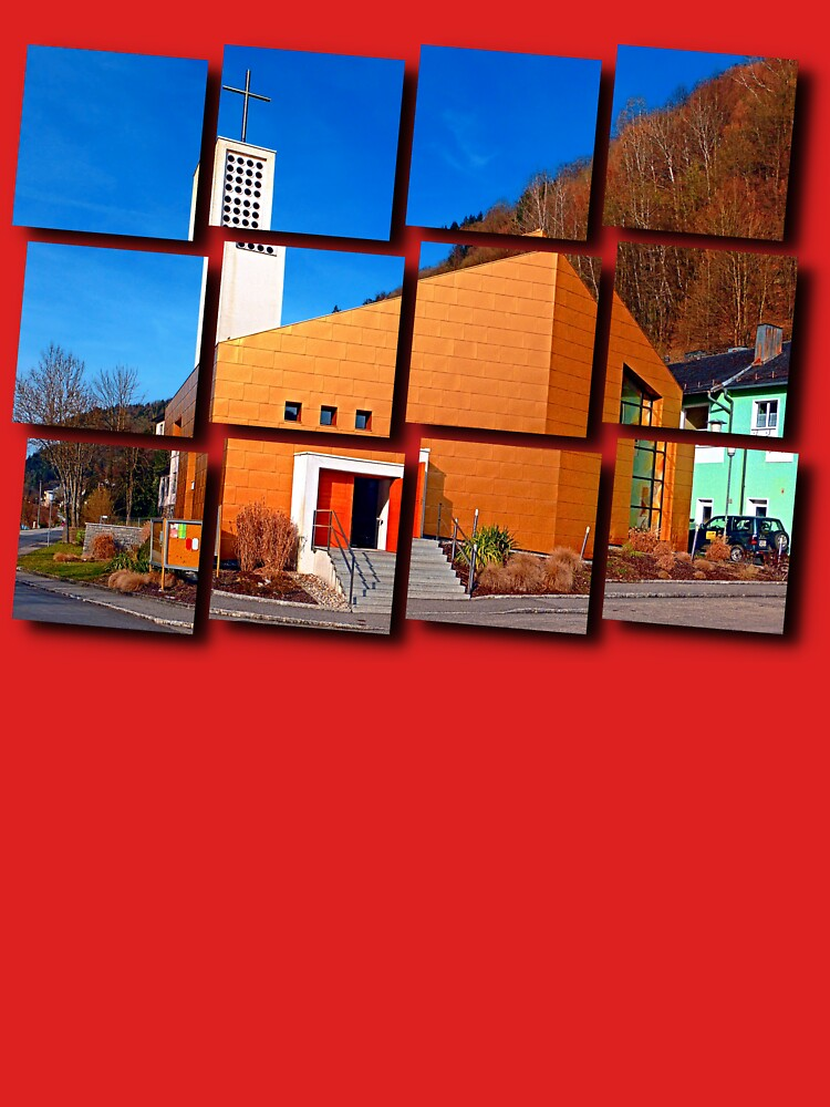 The village church of Obermühl 1   architectural photography by patrickjobst