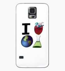 I Love Earth Science Case/Skin for Samsung Galaxy