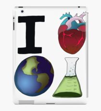 I Love Earth Science iPad Case/Skin