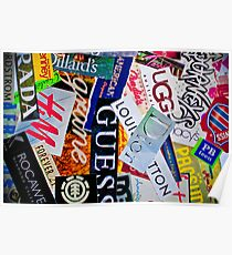brand names Poster