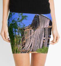 Wood under stress... Mini Skirt