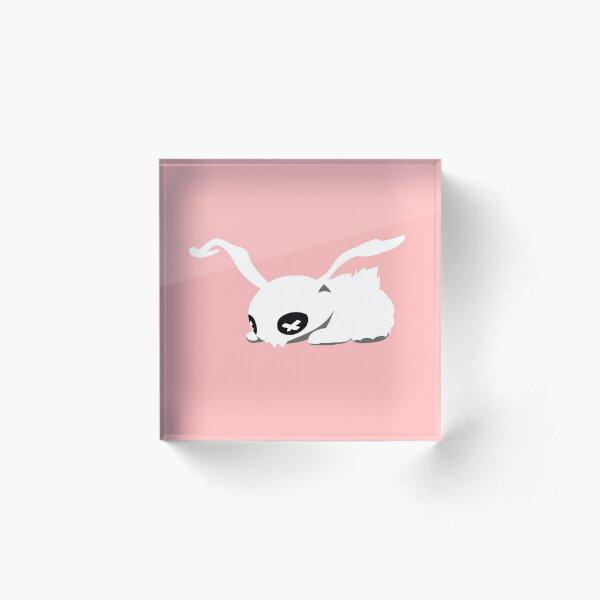 dead rabbit Acrylic Block