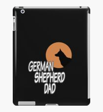 German Shepherd Dad iPad Case/Skin