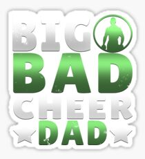 Big Dad Cheer Dad Father's Day Gift Sticker