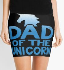 Dad of the Unicorn Father's Day Gift Mini Skirt