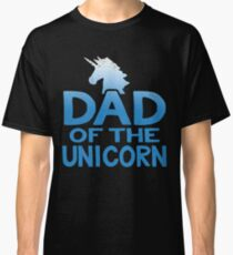 Dad of the Unicorn Father's Day Gift Classic T-Shirt