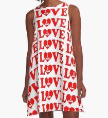 I am love, love I am, I am in love A-Line Dress