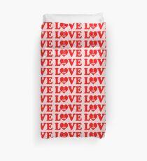 I am love, love I am, I am in love Duvet Cover