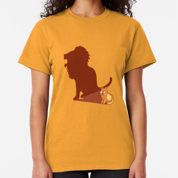Funny Lion Cat Lannister Tshirt - Cat Gifts for Cat Lovers Classic T-Shirt