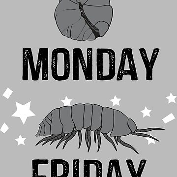 Isopods Monday - Friday by superflygeckos