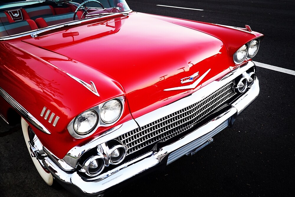 Red Chevy by Douglas E.  Welch
