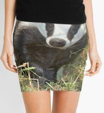 Being a badger Mini Skirt