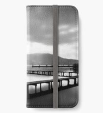 Jetties at Lake Annecy iPhone Wallet/Case/Skin