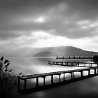 Jetties at Lake Annecy by Imi Koetz