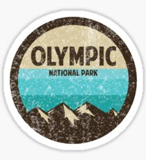 Olympic National Park Sticker Sticker