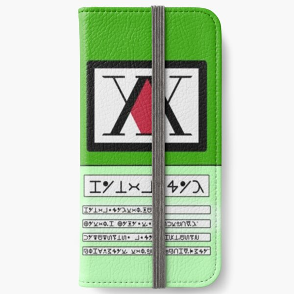 The Hunter License iPhone Wallet