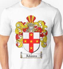 Adams Coat of Arms T-Shirt / Adams Family Crest T-Shirt Unisex T-Shirt