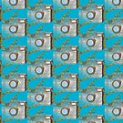 Camera doodle pattern  by iCraftCafe