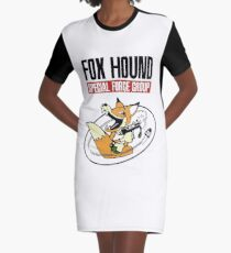 FOXHOUND Special Force Group Graphic T-Shirt Dress