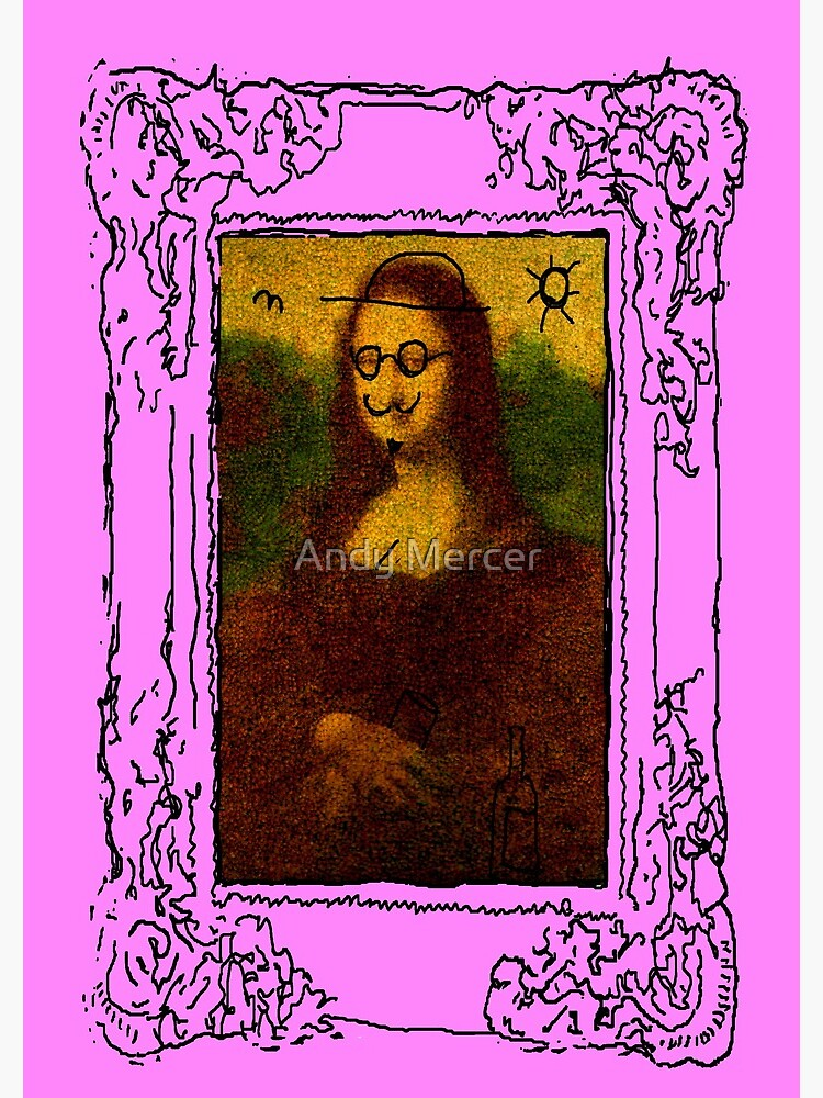 Mona Lisa Defaced  by Recrem