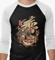 Ramen pool party Baseball ¾ Sleeve T-Shirt