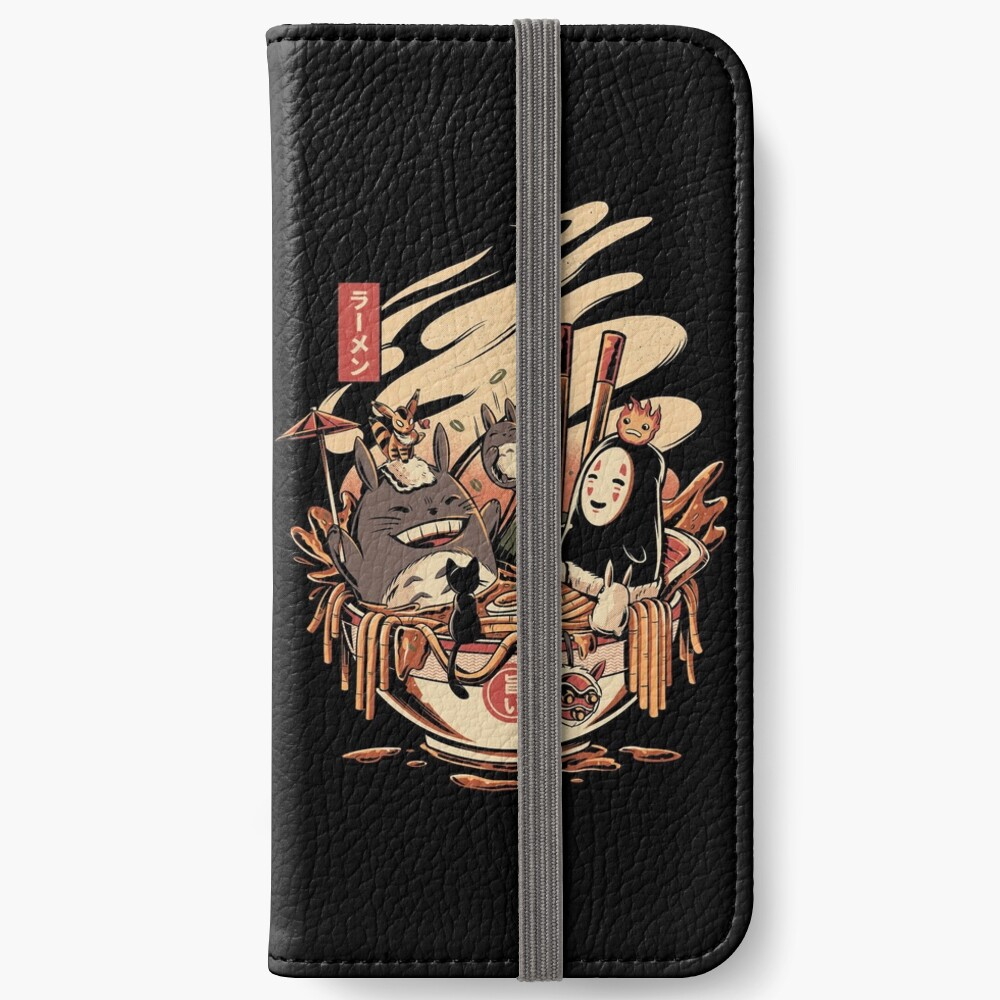 Ramen pool party iPhone Wallet