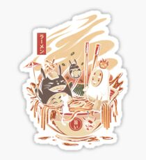 Ramen pool party Sticker