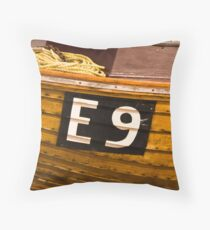 E9 Throw Pillow