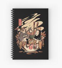 Cuaderno de espiral Fiesta en la piscina Ramen