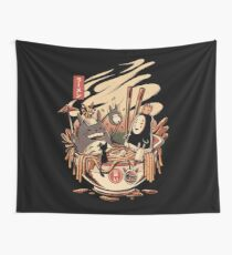 Ramen pool party Wall Tapestry