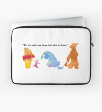 Quote Inspired Silhouette Laptop Sleeve