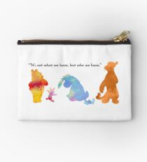 Quote Inspired Silhouette Studio Pouch