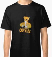 I Give Zero Fox Classic T-Shirt